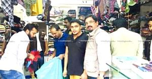 Wayanad-based PK Faizal donated his showroom's stock for the Kerala flood victims. Image credit: Madhyamam