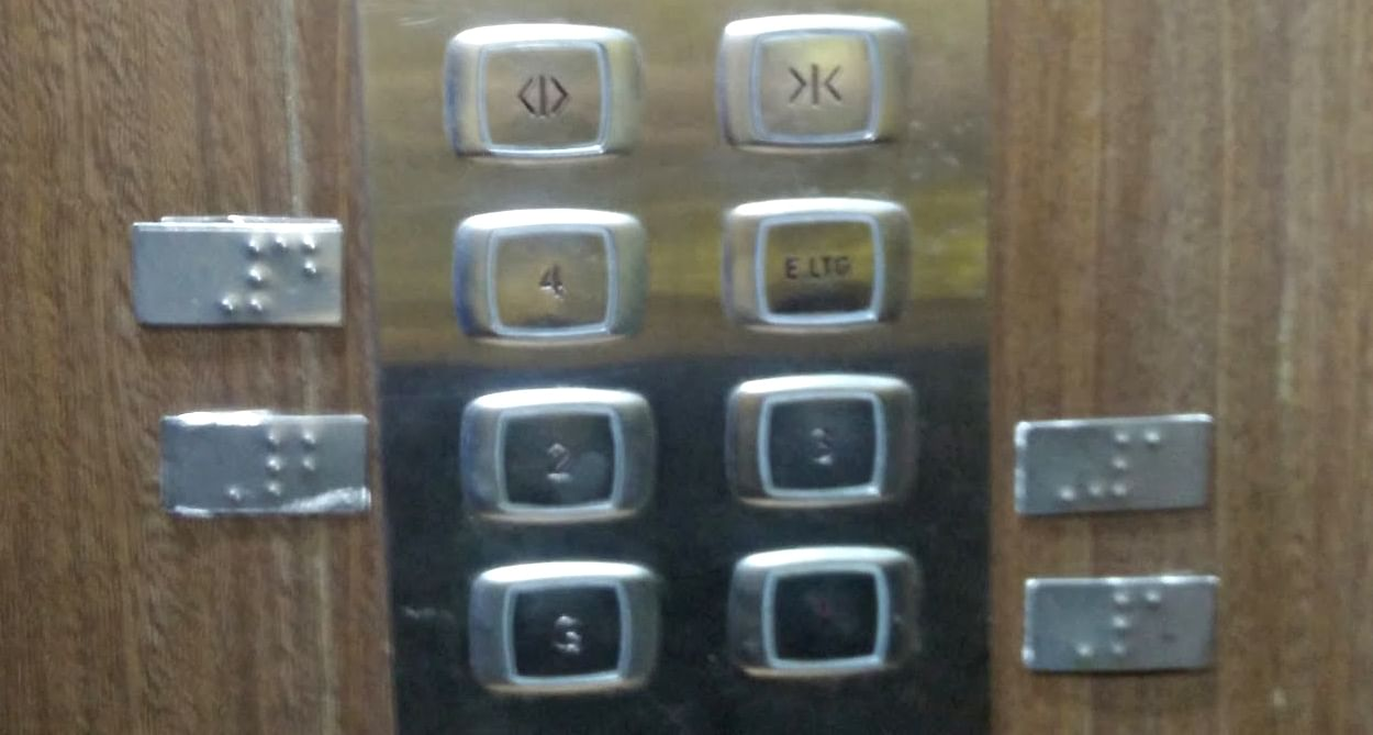 braille in elevators