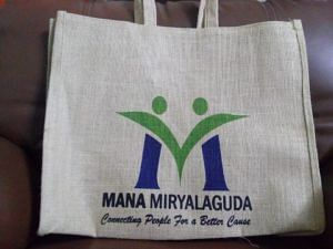 Say not to plastic: Jute bags.