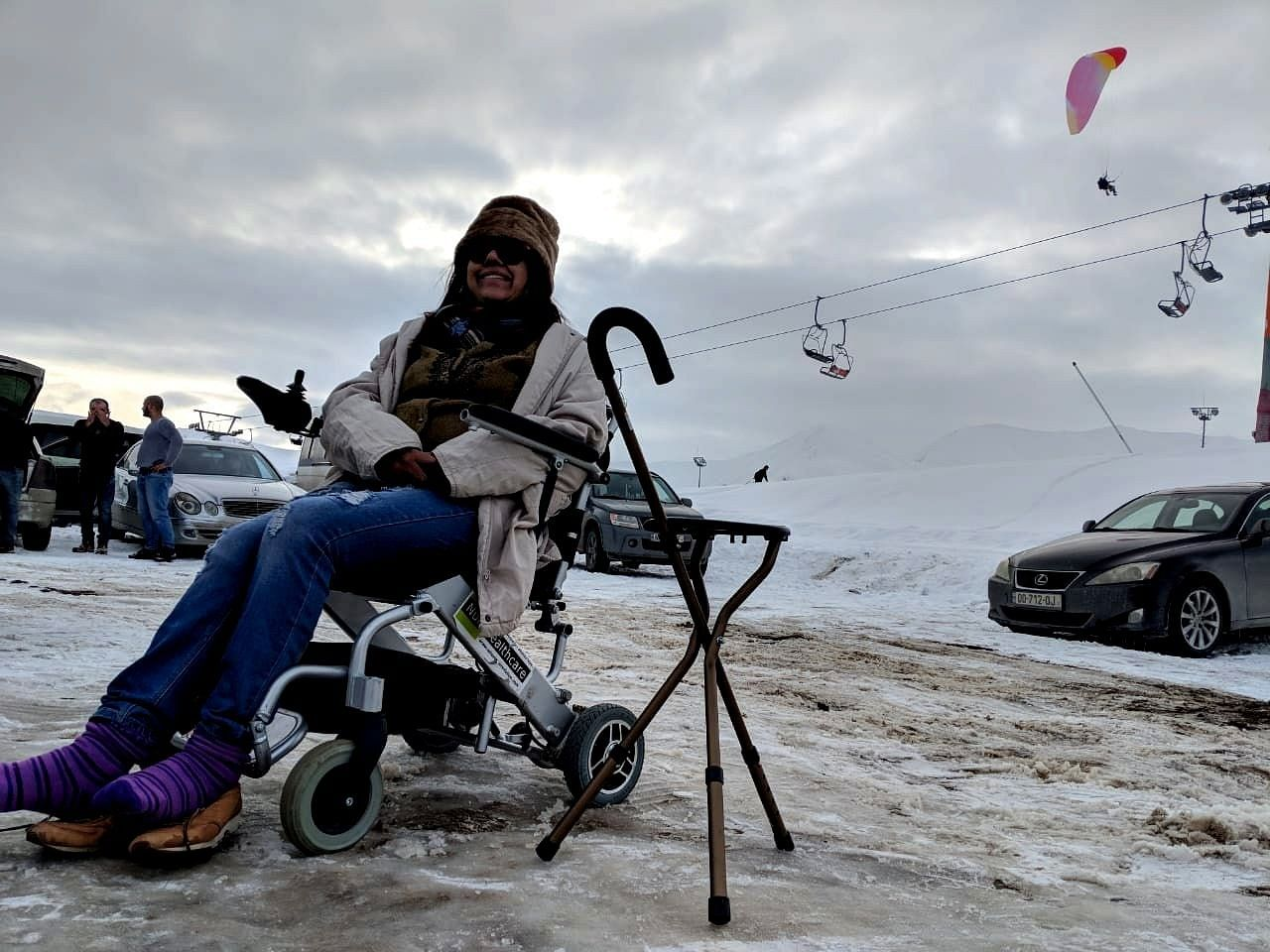 23 Countries, 6 Continents: Amazing Woman Travels The World Alone In Her Wheelchair!