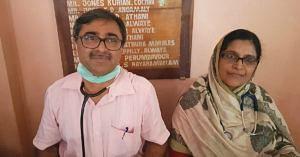 Kerala floods, Aluva couple work tirelessly to save 1000s
