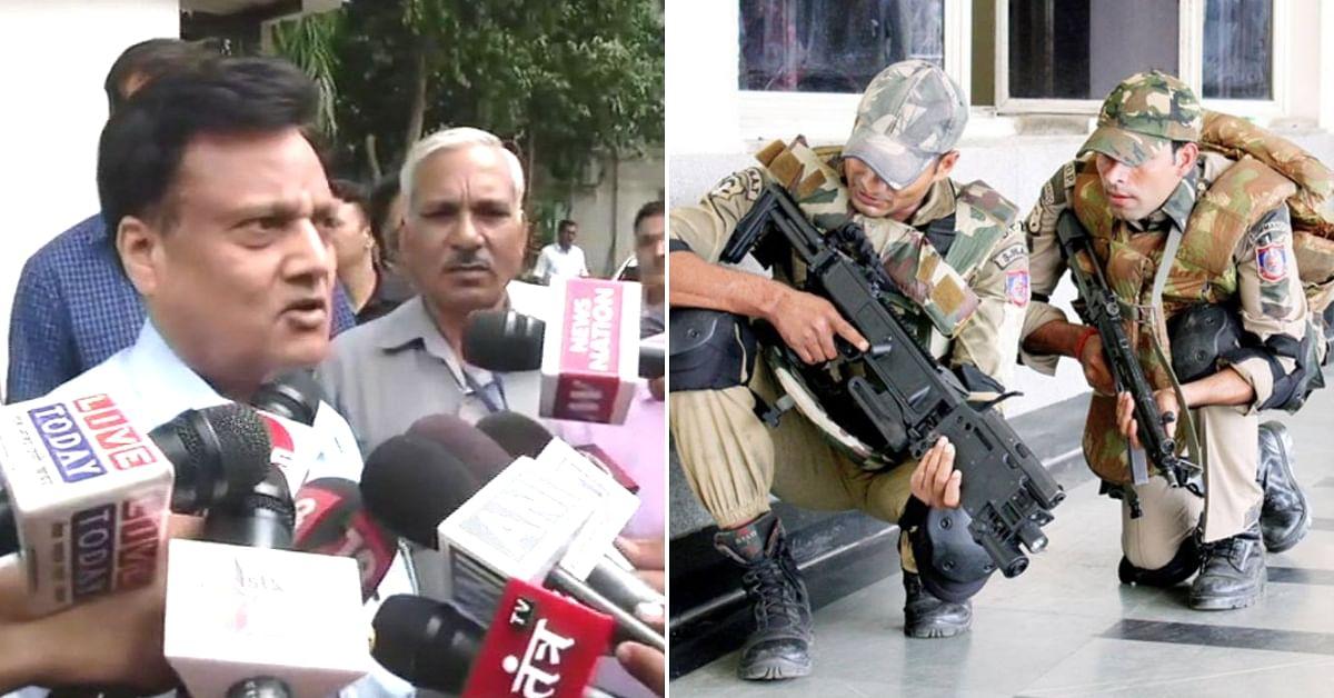 Former JCP (crime branch) Alok Kumar (Left). (Source: Twitter/SHASHANK)