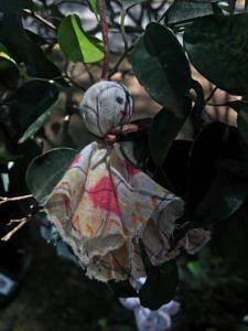 Chekutty doll up close. (Source: Facebook/Chekutty)