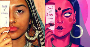 Dark & Lovely_ Powerful Artwork Slams Double Standards of Beauty, Goes Viral!