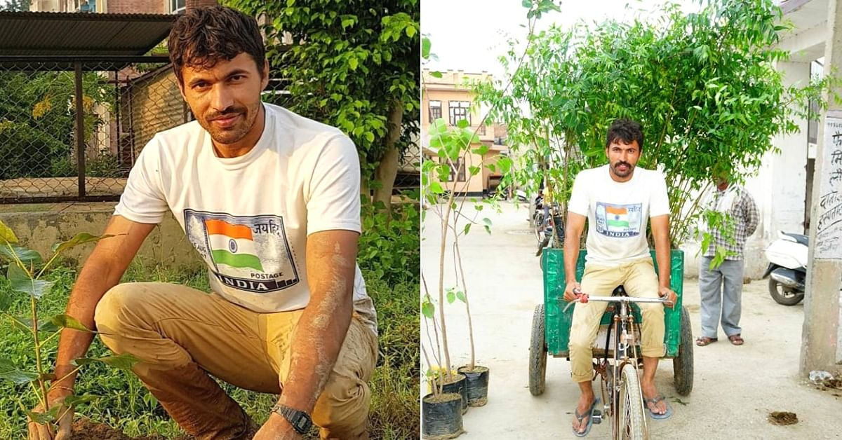 6 Years, 152 Villages: Cop Spends Rs 30 Lakh From Own Pocket to Make Sonepat Green!