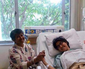 Diti with her mother Monideepa Lahiri. (Source: Facebook/Ena Sarkar)