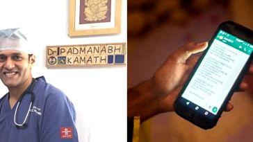 Dr Padmanabh Kamath (Left)- Source: Facebook/Padmanabh Kamath