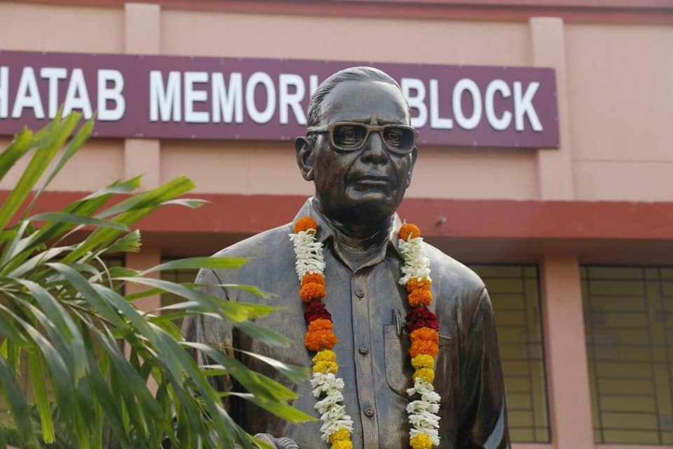 Statue built in his honour. (Source: Facebook/Rajalaxmi Nanda)