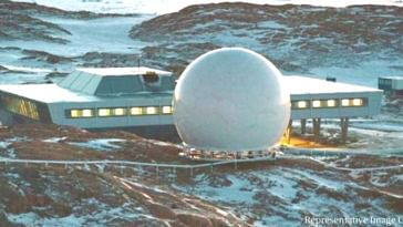 ISRO will soon have an overseas ground base at the North Pole. Photo Source Bharati Station Antarctica
