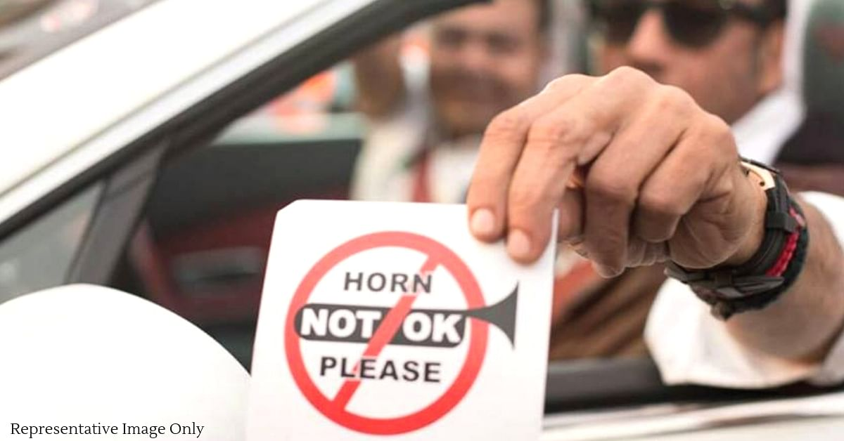 In Delhi, the authorities are cracking down on decibel levels of horns. Representative Image Only. Image Credit: Horn Not Ok Please: A CII-Yi Initiative