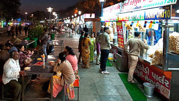 India's first 'clean street food hub', is in Ahmedabad! Go indulge. Image Credit: Taste and Try (Photo by HCP)