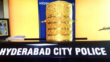 It took them a while, but the Hyderabad cops finally found the priceless stolen artefacts! Image Credit: The Nizam's- Hyderabad