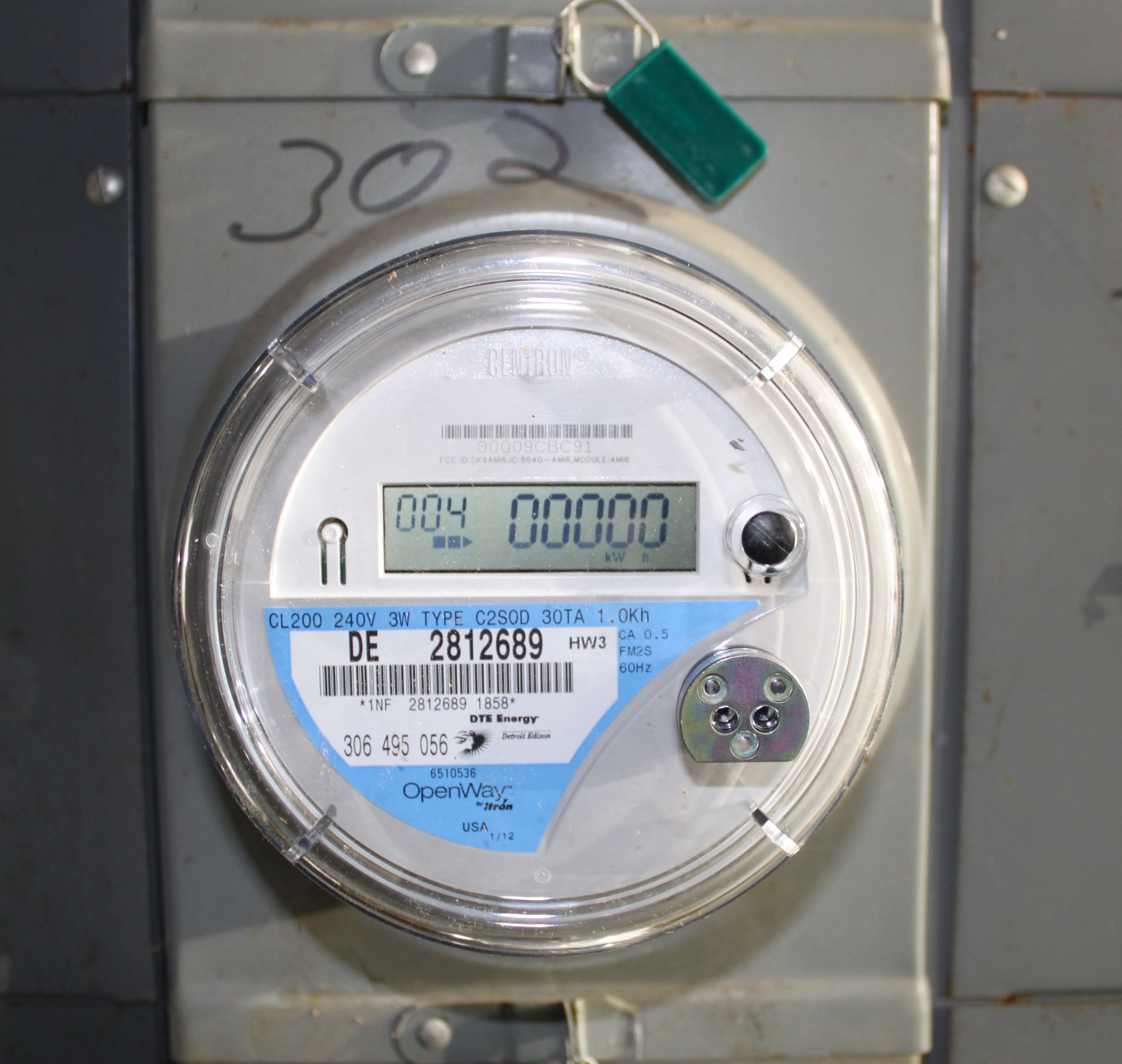 Smart Meter. For representational purposes only. (Source: Wikimedia Commons)