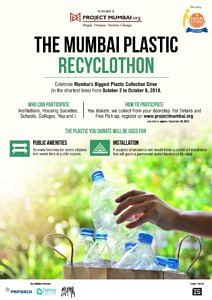 You Collect, They Pick Up: India's Biggest Plastic Recyclothon Coming Up in Mumbai!