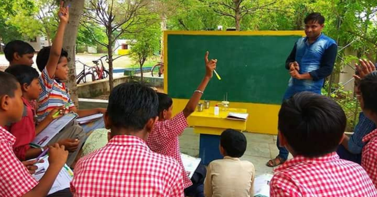When Students Stopped Coming to School, This Gujarat Principal Took It to Their Homes!