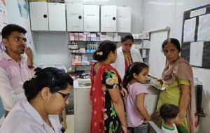 Mohalla Clinic. (Twitter/AAP)