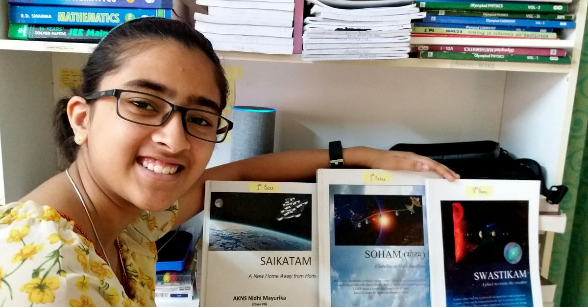 At Just 15, This Brilliant Bengaluru Girl Has Won a NASA Contest Thrice!