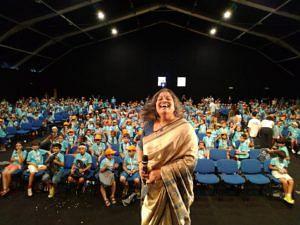 Priya Ramasubban at a recent screening of the film. (Source: Facebook/Chuskit)
