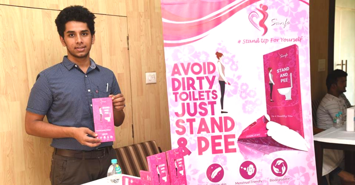Attention, Ladies! This Rs 10 'Pee' Device Will Help You Use Public Toilets Safely