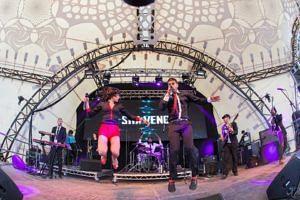 Ska Vengers performing live. (Source: Facebook/Polina Schapovaa)