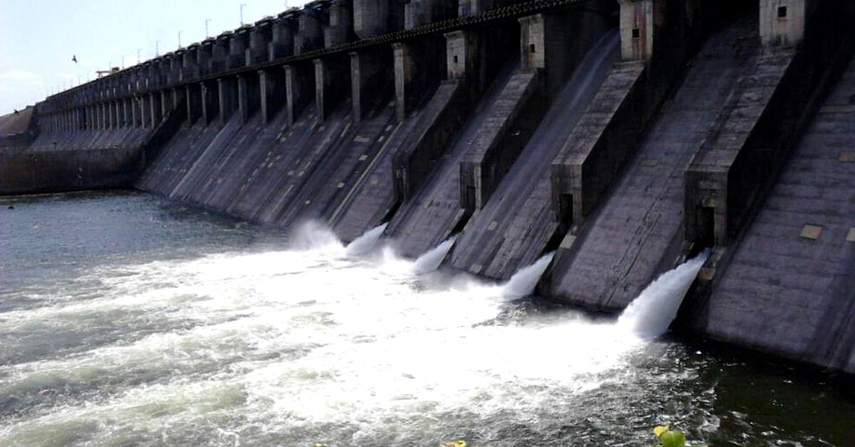 The imposing Ujani dam, in Maharashtra. Image Credit: Manoj Kharade