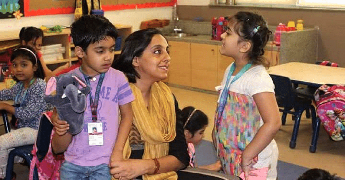 Why This Inspiring Lady Chose to Become a Teacher After 17 Years of Being a Doctor