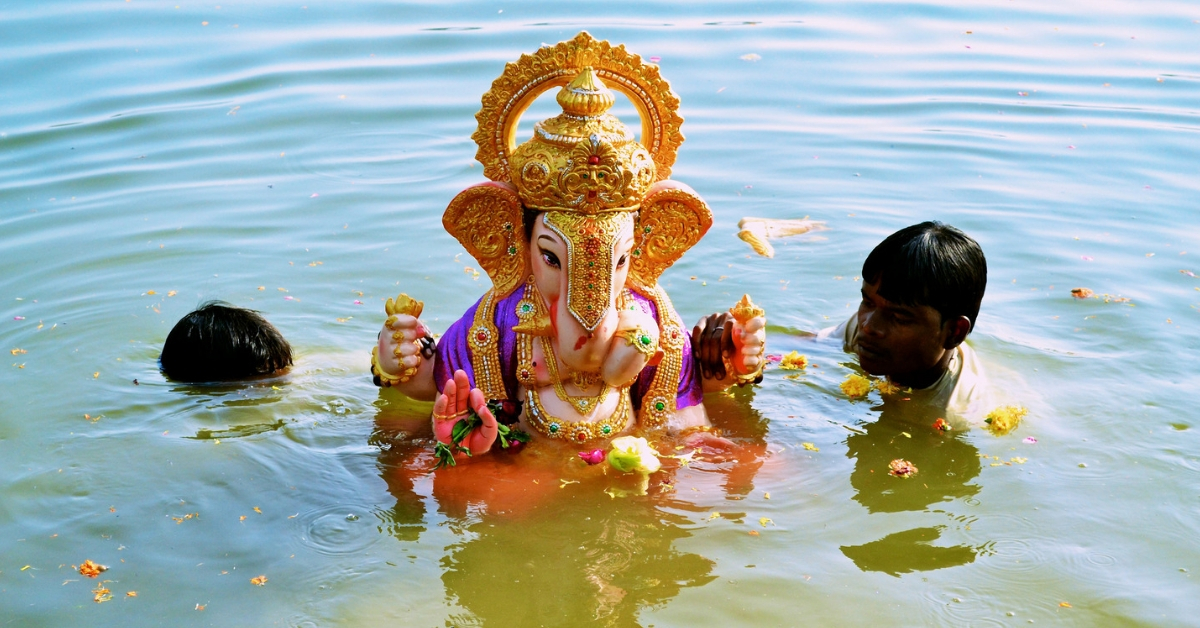 Thanks to Pune Engineers, This K'Taka Village Turns PoP Ganesha Idols Into Fertilisers!