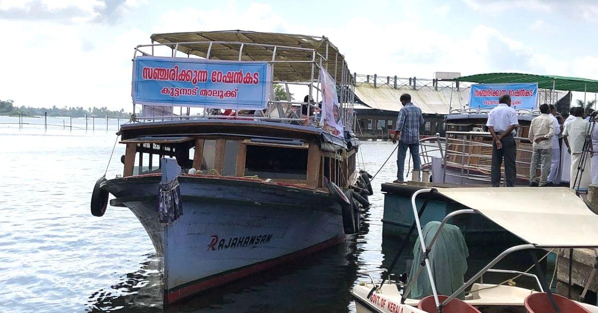 Kerala Floods: Roads Under Water, but 'Floating Shops' Ensure Needy Get Food