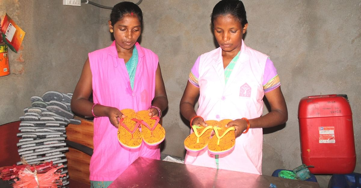Jharkhand Women Give up a Day's Income, Make & Send Slippers to Kerala Victims