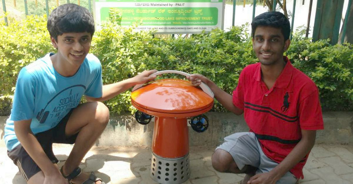 Brilliant! School Kids Build World's First 'FLoBoT' to Save Bengaluru's Polluted Lakes