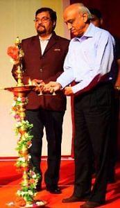 AS Kiran Kumar lighting a diya. (Source: Facebook)
