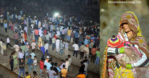 Amritsar Tragedy_ Lady Saves Baby Flung Into Air Minutes Before Train Hits Father