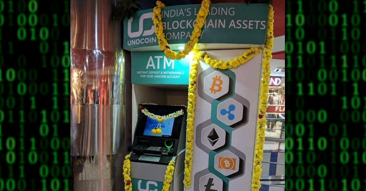 Bengaluru has India's first cryptocurrency ATM. Image Credit: Technical Champion Guruji