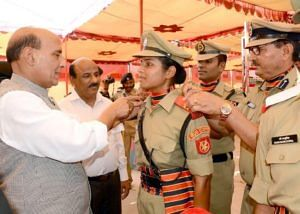 Exclusive: Meet Tanushree Pareek, BSF's First Woman Combat Officer In 51 Years