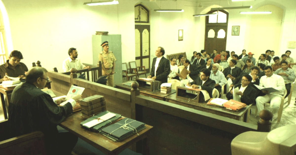 Representative image of a court taken from the movie Shahid. (Source: Netflix)