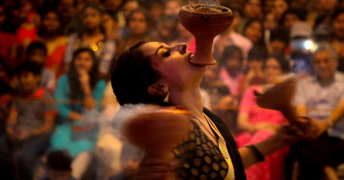 Fire, Earth & Incense: All You Need To Know About Bengal's Ancient 'Dhunuchi Naach'