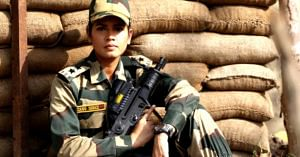 Exclusive_ Meet Tanushree Pareek, BSF's First Woman Combat Officer In 51 Years (1)