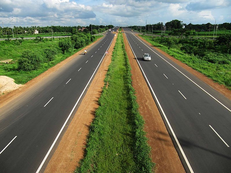Durgapur segment of Golden Quadrilateral (Source: Wikimedia Commons)
