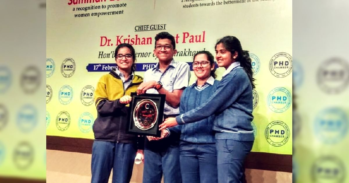 Gurugram Kids Build Award-Winning Innovation That Can Ease Rush Hour Traffic Woes!