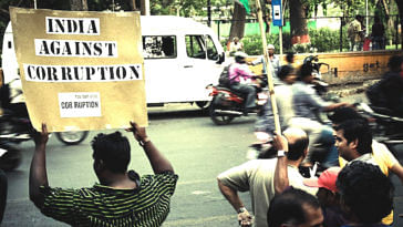 Remember that anti-corruption movement in 2011 which swept the country? Seven years since the movement led by Anna Hazard and four years after Parliament passed the Lokpal Act, the government has finally gotten around to select members for the anti-corruption ombudsman. (Source: Wikimedia Commons)