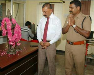 IG Pon Manickavel, who has been leading the Idol Wing for the past five years has led the Tamil Nadu's charge twoards retrieving lost idols. (Source: Facebook/J Prabhu Agamudayar)