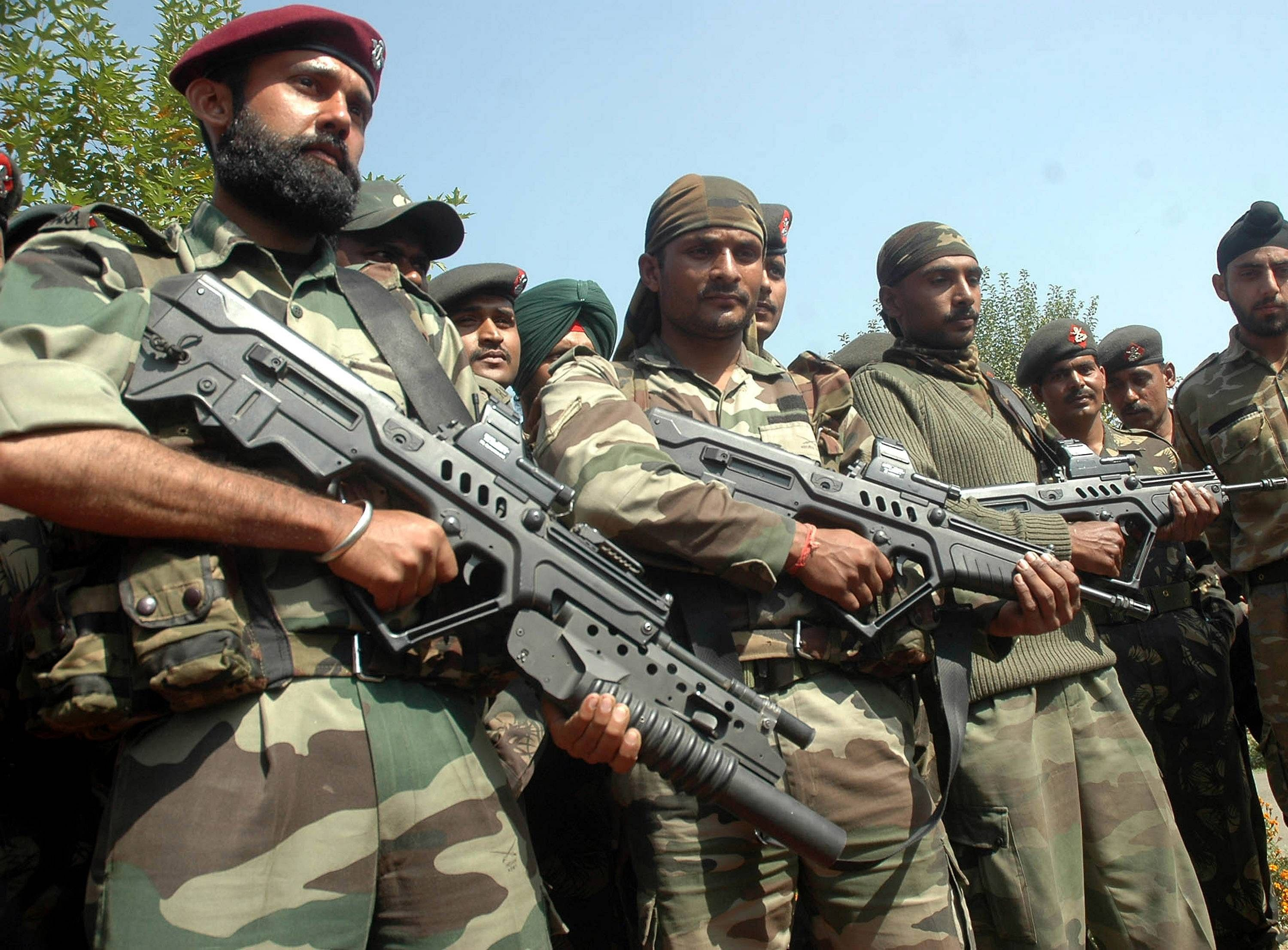 India's Para Special Forces. For representational purposes only. (Source: Wikimedia Commons)