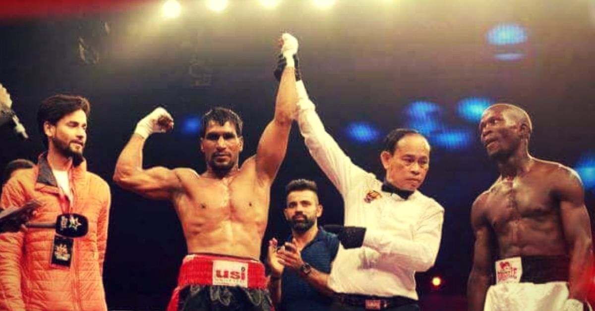 With a Story of Sheer Grit, This Haryana Tea-Seller is India's Best Lightweight Boxer!