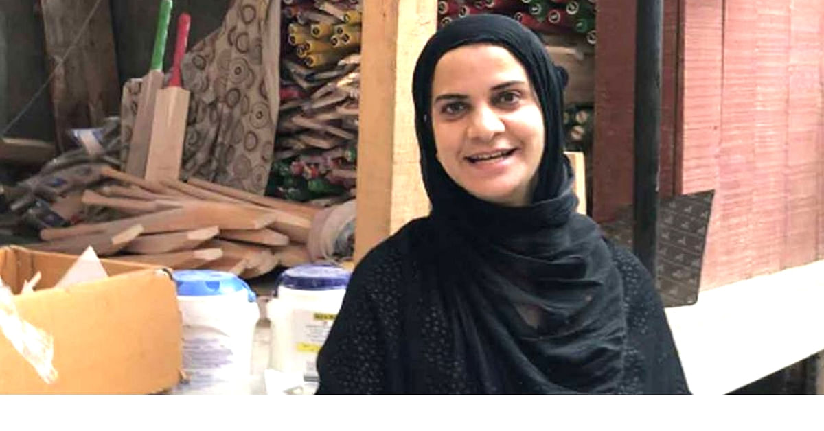 Amidst The Turmoil, Kashmir's Only Woman 'Bat-Maker' is Scripting a Saga of Her Own!