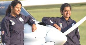 Mumbai Girls Are 1st Indian Women to Fly Light Sport Aircraft Around the World!
