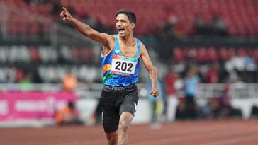 Narayan Thakur para Asiad gold