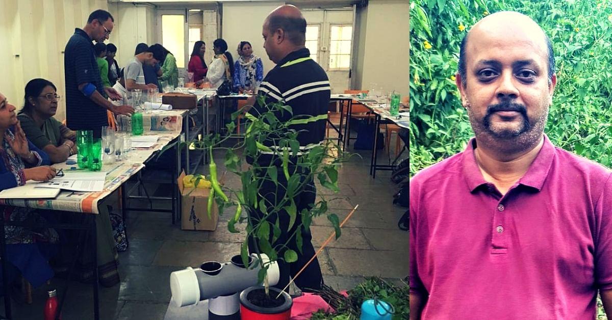No Soil, No Pesticides_ Meet the Self-Taught Punekar Who Grows Veggies in PET Bottles! (3)