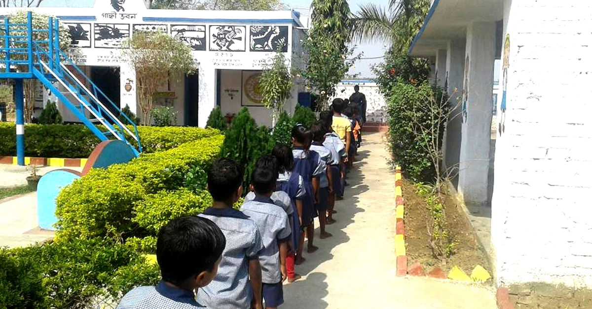Child Cabinets to Meditation Rooms, Bengal Teachers Totally Transform Village School!
