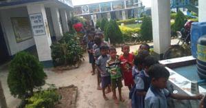 The Gundlubari Primary School, in West Bengal's Purulia District. Image Credit: Gundlubari primary school