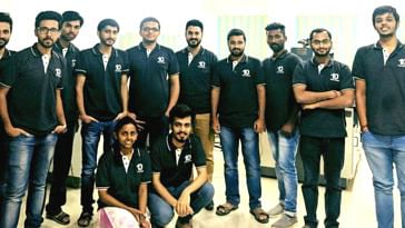 The IIT Roorkee team of Log9 Materials, that has worked on the car that runs on water and aluminium. Image Credit: Log9 Materials